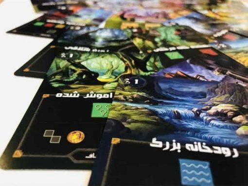بازی بردگیم ایرانی رسام