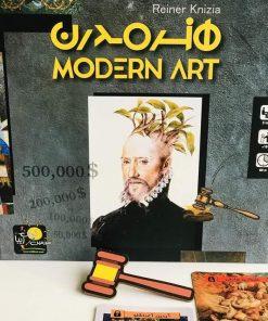 بازی بردگیم ایرانی هنر مدرن (Modern Art)
