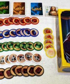 بازی بردگیم ایرانی کهربا (Splendor)