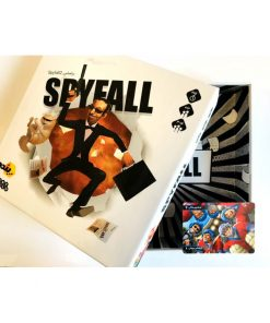 بازی بردگیم ایرانی اسپای فال 2 (Spy Fall 2)