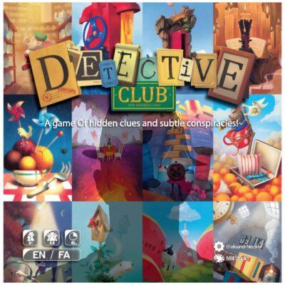 بازی بردگیم ایرانی باشگاه کاراگاهان (Detective Club)